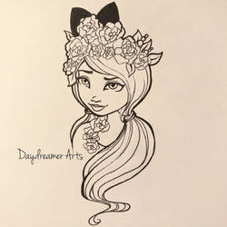 Spring Unsprung Kitty Cheshire by Daydreamer-Arts