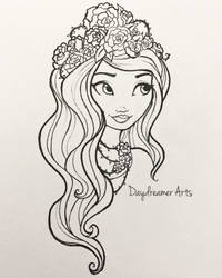 Spring Unsprung Briar Beauty by Daydreamer-Arts