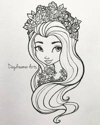 Spring Unsprung Holly O'Hair by Daydreamer-Arts
