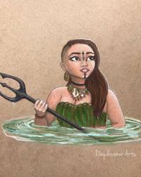 Warrior mer by Daydreamer-Arts