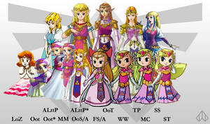 Evolution of Zelda by Nelde