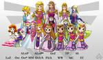 Evolution of Zelda