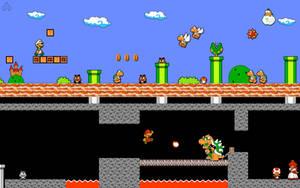 Retro Super Paper Mario Bros. by Nelde