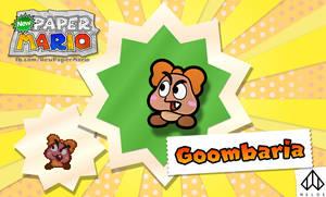 New Paper Mario: Goombaria by Nelde