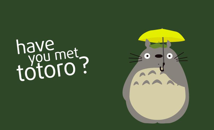 Have you met Totoro? by Nelde