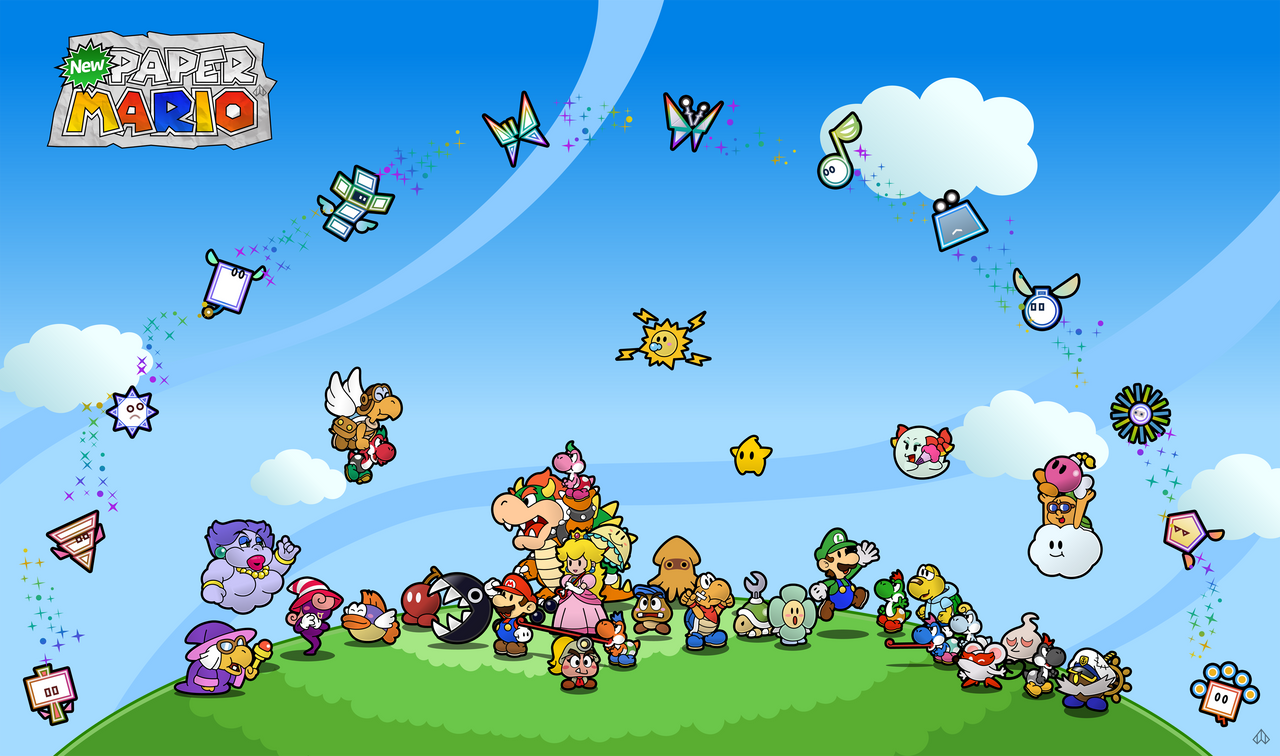 Every Paper Mario Partner by Nelde