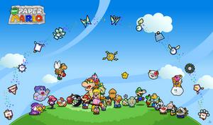 Every Paper Mario Partner by Nelde