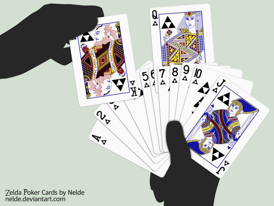 Zelda Poker Cards