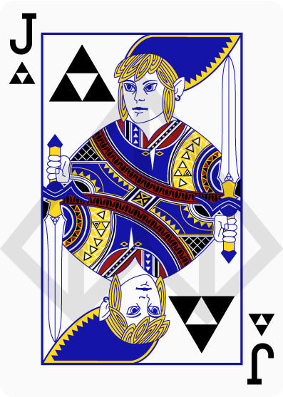 Link Zelda card