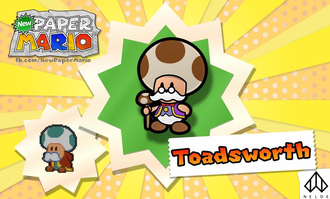 paper toadsworth - photo #28