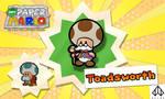 New Paper Mario: Toadsworth