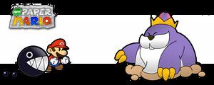 New Paper Mario: King Monty by Nelde