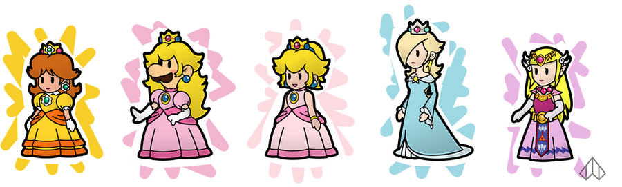 Paper Princesses by Nelde