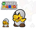 New Paper Mario: Jr. Troopa