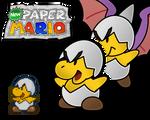 New Paper Mario: Jr. Troopa
