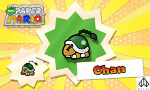 New Paper Mario: Chan
