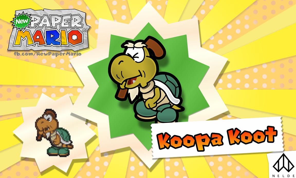 New Paper Mario: Koopa Koot by Nelde