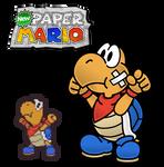 New Paper Mario: Kooper