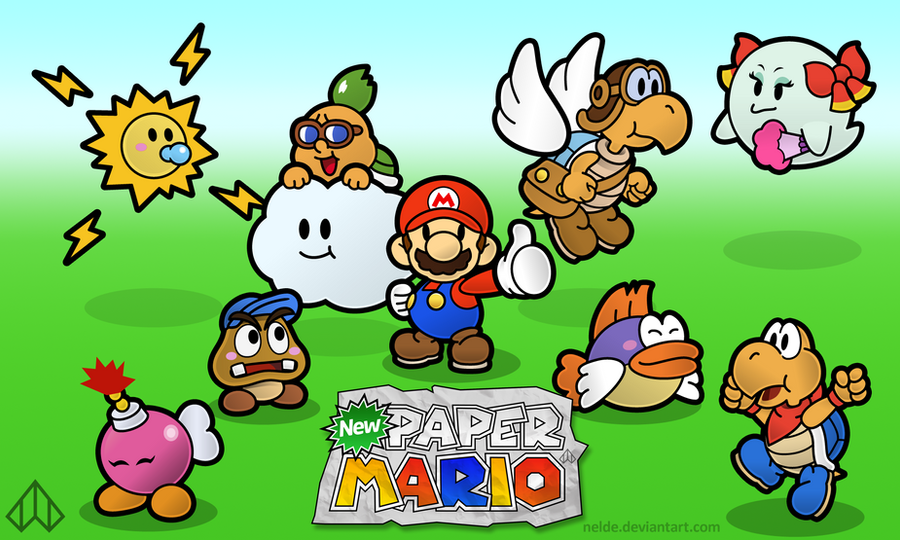 New Paper Mario: The Partners by Nelde