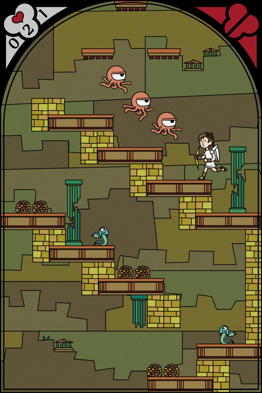 Kid Icarus Redesign Screen 1 by Nelde