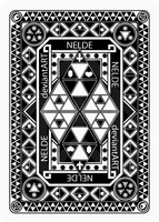 Zelda Poker Cards: the back side by Nelde