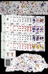 Zelda Poker Card Set by Nelde