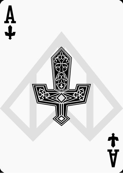 Ace of Swords by Nelde