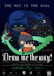 Draw me the way - Poster by Nelde