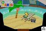 New Paper Mario: Summertime by Nelde