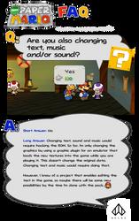 New Paper Mario: FAQ Number 3 by Nelde