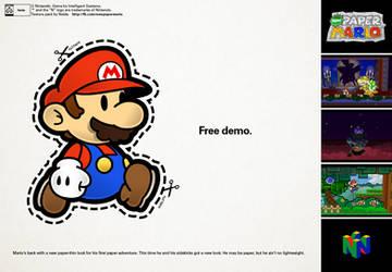 Free New Paper Mario Demo