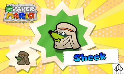 New Paper Mario: Sheek