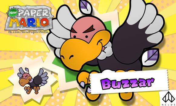 New Paper Mario: Buzzar