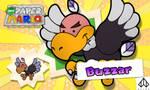 New Paper Mario: Buzzar by Nelde