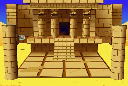 New Paper Mario: Dry Dry Ruins by Nelde