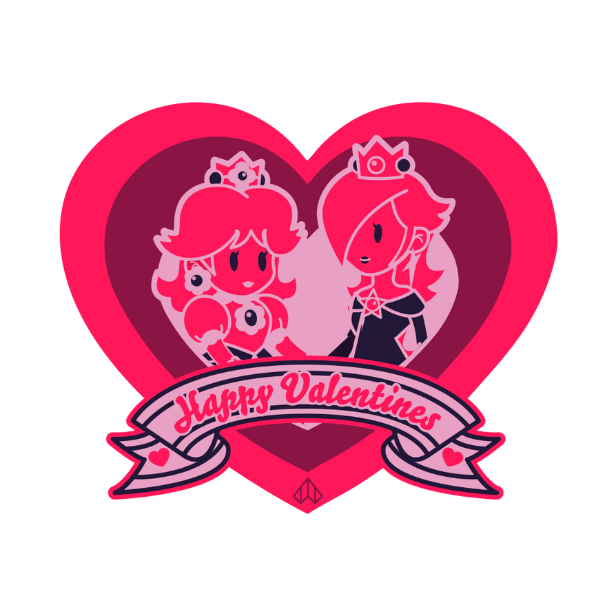New Paper Mario: Happy Valentines #2 by Nelde