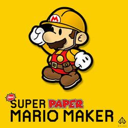 New Super Paper Mario Maker by Nelde