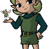 Saria in windwaker style by Nelde