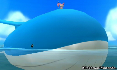 wailord and skitty size  Wailord Size Comparison