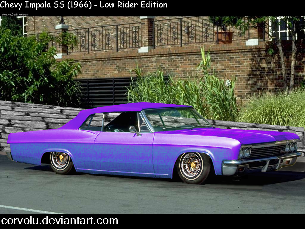 66 chevy impala low ri...