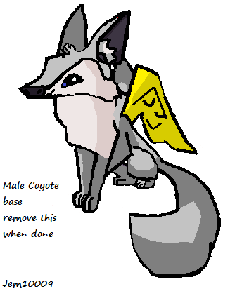 how to draw an animal jam coyote