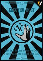 Bioshock | Plasmid | Electro Bolt by FALLENV3GAS