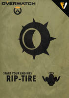 Overwatch Ultimates | Junkrat | Rip-Tire by FALLENV3GAS
