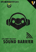 Overwatch Ultimates | Lucio | Sound Barrier by FALLENV3GAS