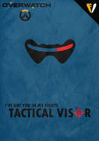 Overwatch Ultimates | Soldier 76 | Tactical Visor by FALLENV3GAS