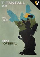 Titanfall | Titan Class | Ogre by FALLENV3GAS