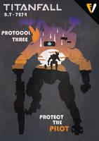 Titanfall 2 | Titan Class | B.T-7274 by FALLENV3GAS