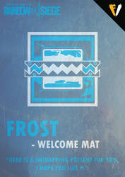 Rainbow Six Siege   JTF2   Frost by FALLENV3GAS