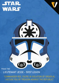 Star Wars | 501st Legion | Jesse | Phase 2