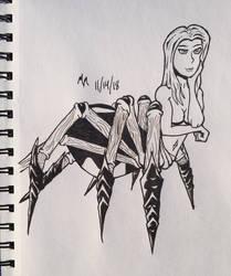 My First Arachne by MildMisanthropy